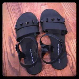 French connection Rubber Sandals